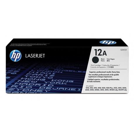کارتریج اصلی HP 12A |قابل استفاده در پرینتر 1010-1020-1018